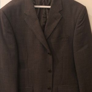 Brown Liz Claiborne suit jacket sz 40R
